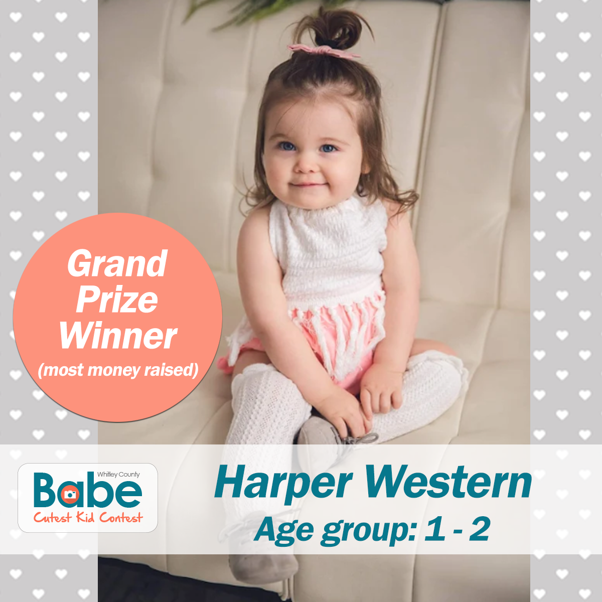 Winners of the BABE Cutest Kid Contest – BABE of Whitley County